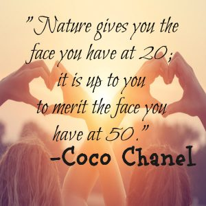 Bella Nani-Coco Chanel Quote