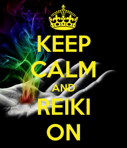 keep calm and reiki on