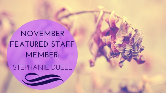 November Featured Staff Member